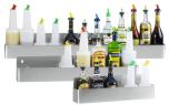 Speedrack för 8 flaskor, 81 x 16 x 10 cm