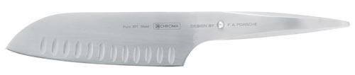 Japansk kockkniv med luftspalt 18 cm P21
