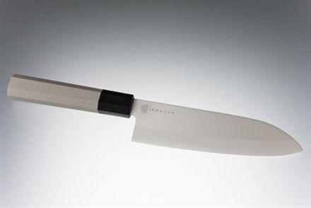 Hi Tech jap. kockkniv 15,5 cm, vitt blad