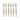 Gaffel, ljus horn, 6 st, Claude Dozorme Laguiole