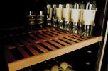 Vinkyl för 168 flaskor, dual, sv dörram