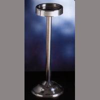 Golvstativ ishink, 17 cm, rostfritt stål