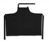Sommelierförkläde, svart, 124 x 97 cm