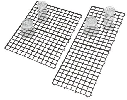 Diskmatta, 4 st 30 x 20