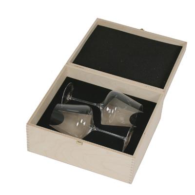 Sophienwald presentlåda med 2 glas