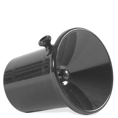 Spottkopp, 2,5 lit, svart plast