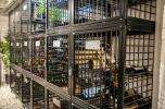 Vinbox, låsbar