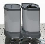 Glas disk Delfin TS 2100 bordmodell