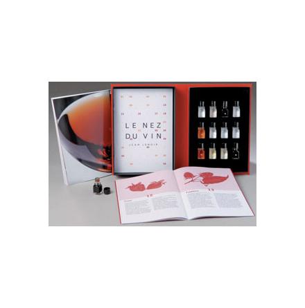 Näsa för vin, 12 aromer för rött vin