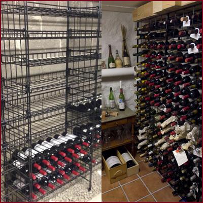 Vinställ Wineracks of Sweden i smide