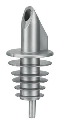 Droppkork, 12 st, silver
