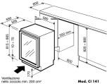 IP CI 141 CFX, rostfri dörram