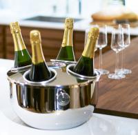 Champagneskål för 4 flaskor