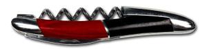 Laguiole korkskruv, Black/red Stamina handle