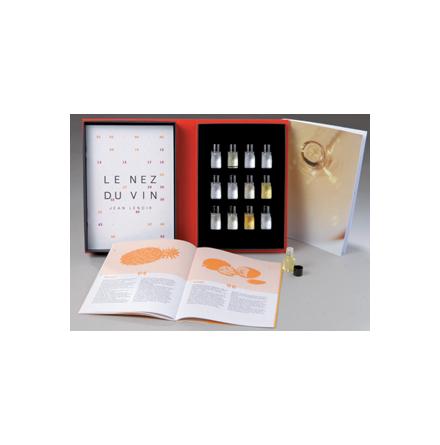 Näsa för vin, 12 aromer för vitt vin & champagne
