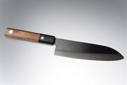 Hi Tech jap kockkniv 15,5 cm, svart blad