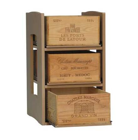 Utdragbar hylla för lådor, 1 st