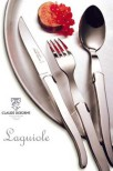 Stekkniv, rostfritt, 6 st, Claude Dozorme Laguiole