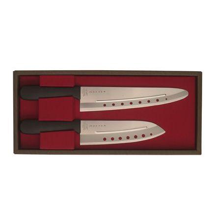 Novac presentförpackning, 2 knivar, plasthandtag