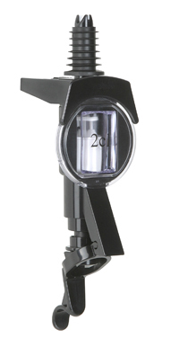 Dosör för flaskhållare, svart, 2 cl