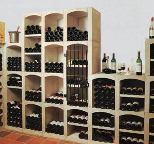 Vinicase, vinförvaringsssystem i betong