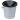 Spottkopp aluminium, 0,9 liter